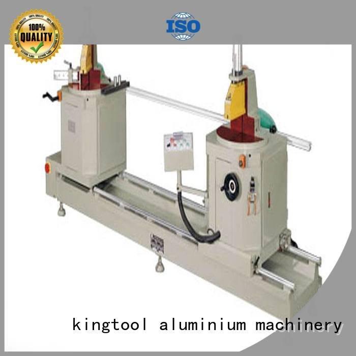 turntable type saw trimming kingtool aluminium machinery sanitary profile cutting machine