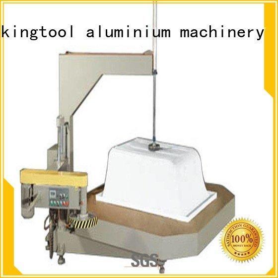 sanitary profile cutting machine machine turntable type Sanitary Ware Machine kingtool aluminium machinery Warranty
