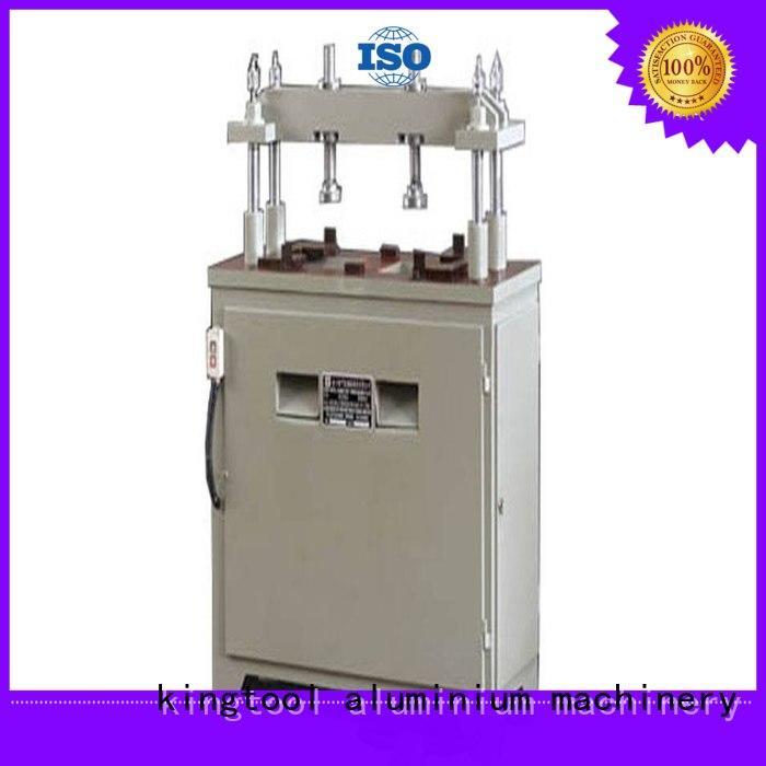 kingtool aluminium machinery fourcolumn automatic punching machine free design for PVC sheets