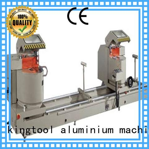aluminum cutting machine saw in plant kingtool aluminium machinery
