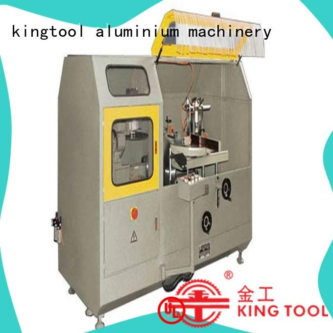 kingtool aluminium machinery aluminium cnc aluminum cutting machine in workshop