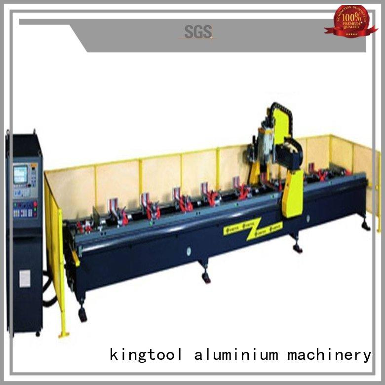 kingtool aluminium machinery Brand 5axis head industrial custom cnc router aluminum
