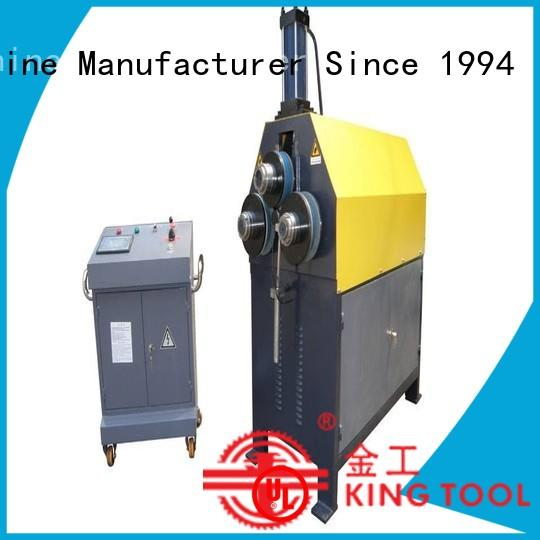 kingtool aluminium machinery steady aluminum tube bending machine for metal plate