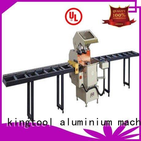 aluminium cutting machine price auto feeding cutting OEM aluminium cutting machine kingtool aluminium machinery
