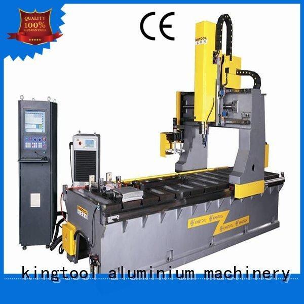 Custom track curtain wall machine friction aluminium press machine