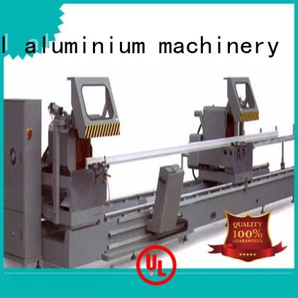 kingtool aluminium machinery heavy types of cnc machine for curtain wall materials in plant