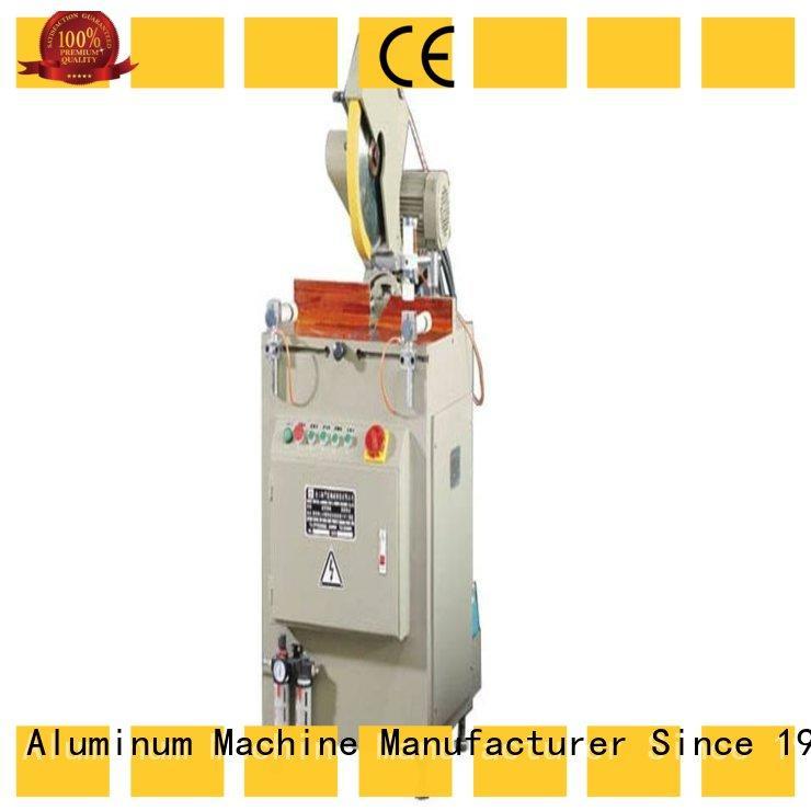 kingtool aluminium machinery eco-friendly aluminium cutting machines for aluminum door in workshop