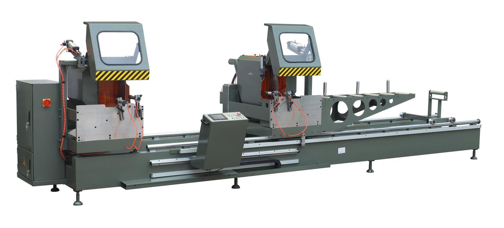 kingtool aluminium machinery mitre core cutting machine for plastic profile in workshop-1