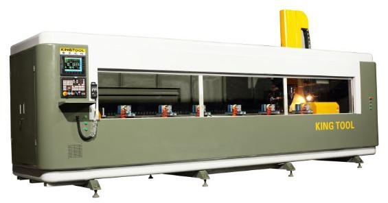 kingtool aluminium machinery 4 axis cnc router producer for plate-1