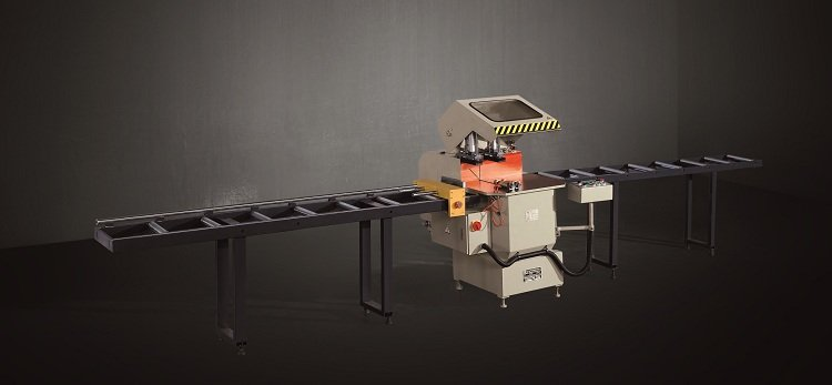 kingtool aluminium machinery easy-operating metal cutting machine for aluminum curtain wall in workshop-1