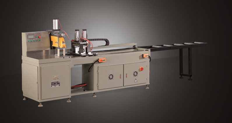 kingtool aluminium machinery curtain core cutting machine for curtain wall materials in workshop-1