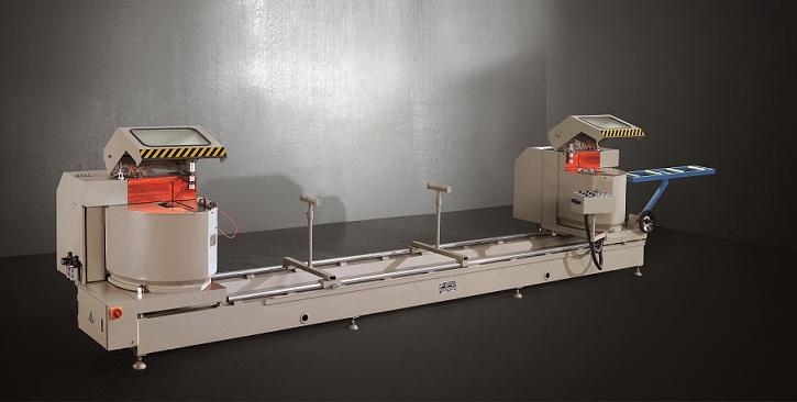 kingtool aluminium machinery easy-operating aluminium profile cutting machine for curtain wall materials in workshop-1