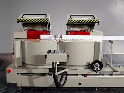 kingtool aluminium machinery easy-operating aluminium profile cutting machine for curtain wall materials in workshop-2