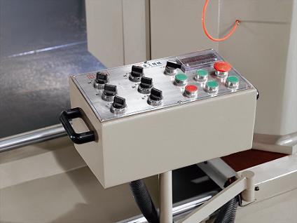 kingtool aluminium machinery easy-operating aluminium profile cutting machine for curtain wall materials in workshop-3