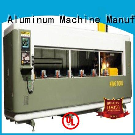 kingtool aluminium machinery precise cnc router for aluminum parts from China for steel plate