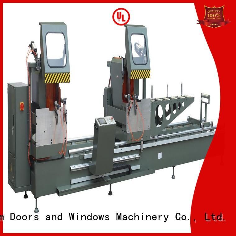 kingtool aluminium machinery wall aluminum cutting machine price for aluminum door in workshop
