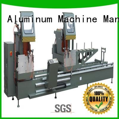 easy-operating metal cutting machine manual for plastic profile in plant