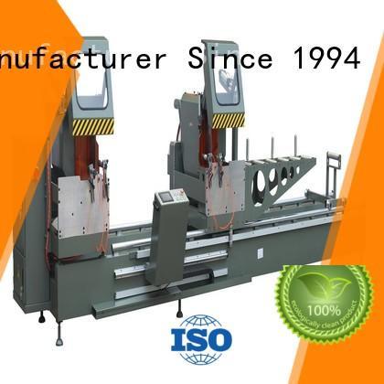 kingtool aluminium machinery cnc cutting machine price for aluminum window in workshop
