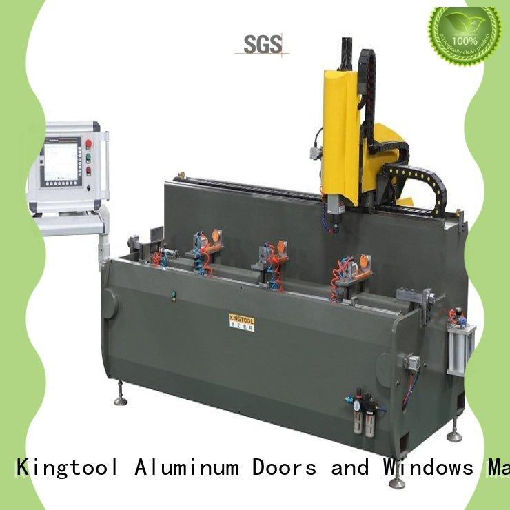 kingtool aluminium machinery steady industrial cnc router directly sale for PVC sheets