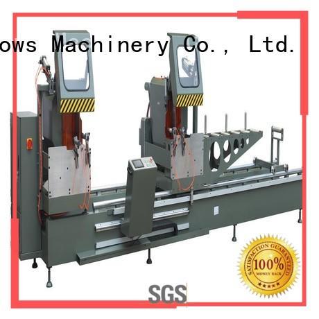 kingtool aluminium machinery window automatic aluminium cutting machine for aluminum door in plant
