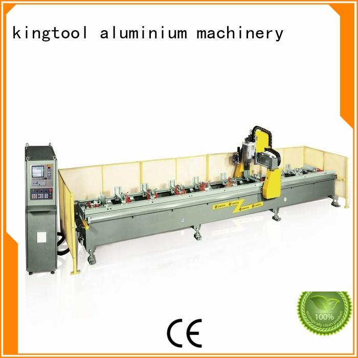 cnc center router machine aluminium router machine kingtool aluminium machinery