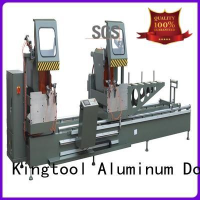 kingtool aluminium machinery multifunction aluminium profile cutting machine for aluminum door in plant