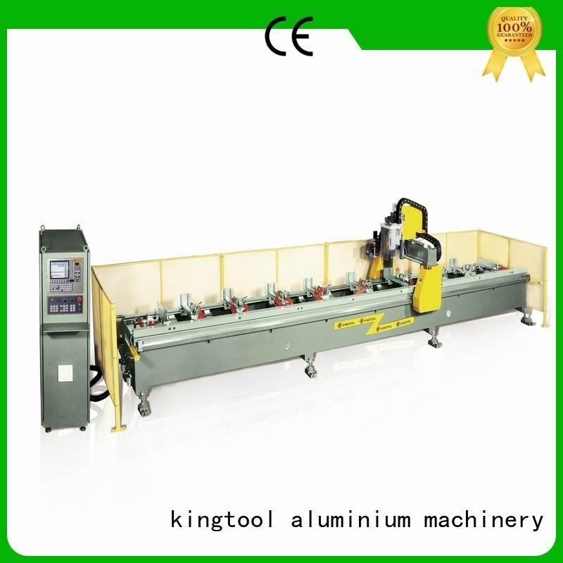 kingtool aluminium machinery Brand machining profile aluminium router machine manufacture