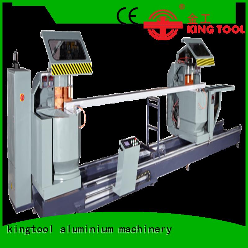 kingtool aluminium machinery machine curtain wall machine order now for steel plate