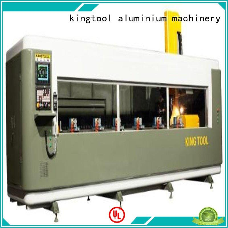 kingtool aluminium machinery 4 axis cnc router producer for plate
