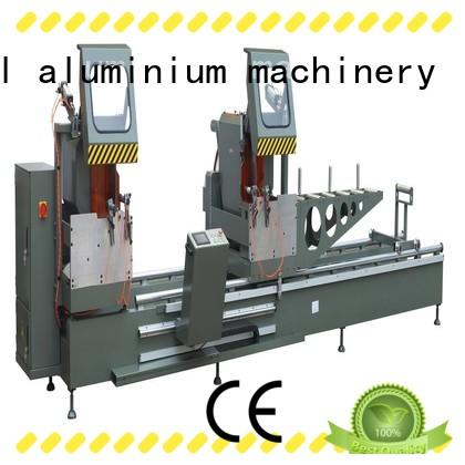 best aluminium cutter duty for plastic profile in factory