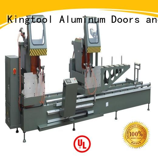 curtain aluminium section cutting machine for heat-insulating materials in factory kingtool aluminium machinery