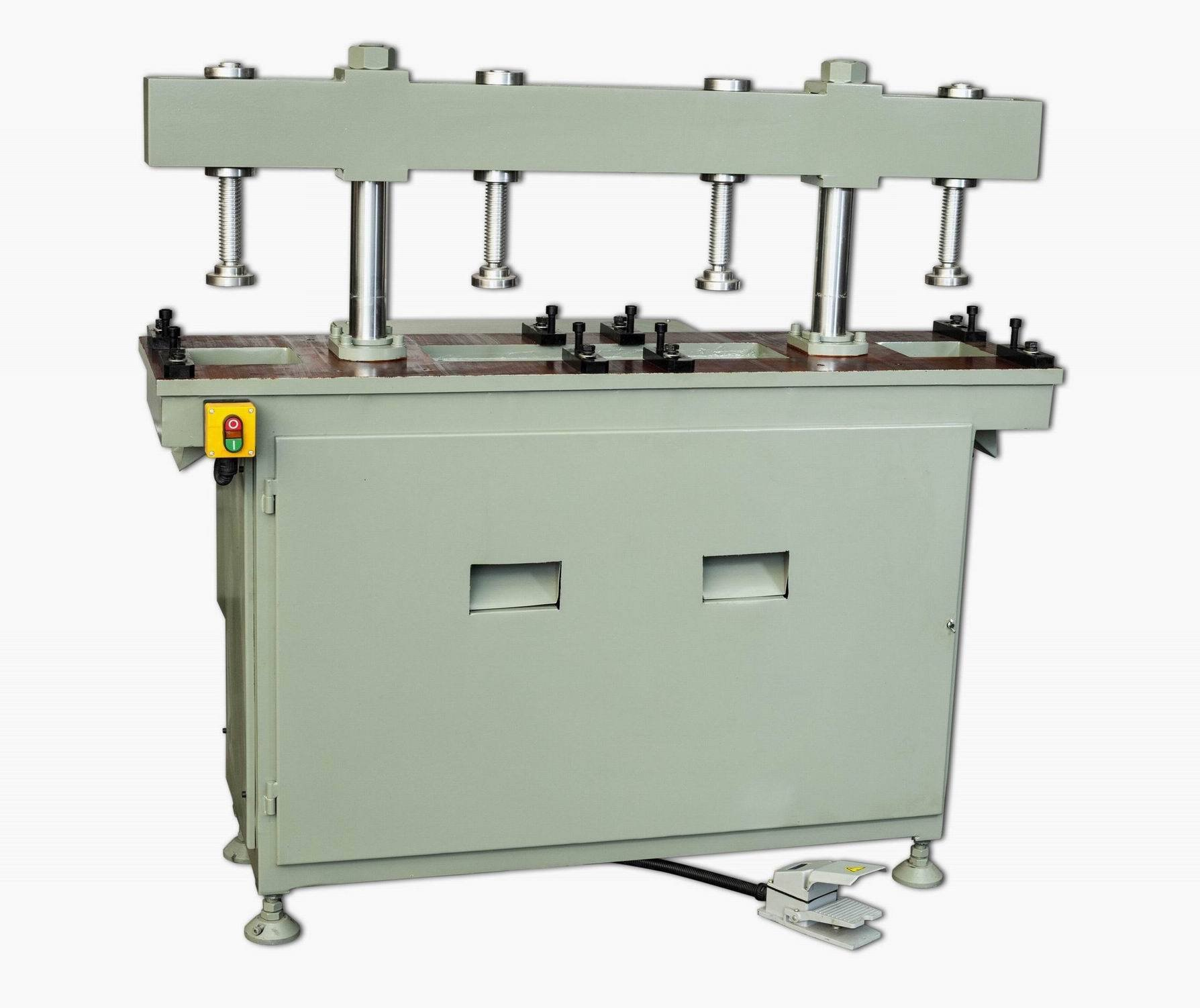 kingtool aluminium machinery KT-373 Double Column Hydraulic Aluminum Punching Machine Aluminum Punching Machine image2