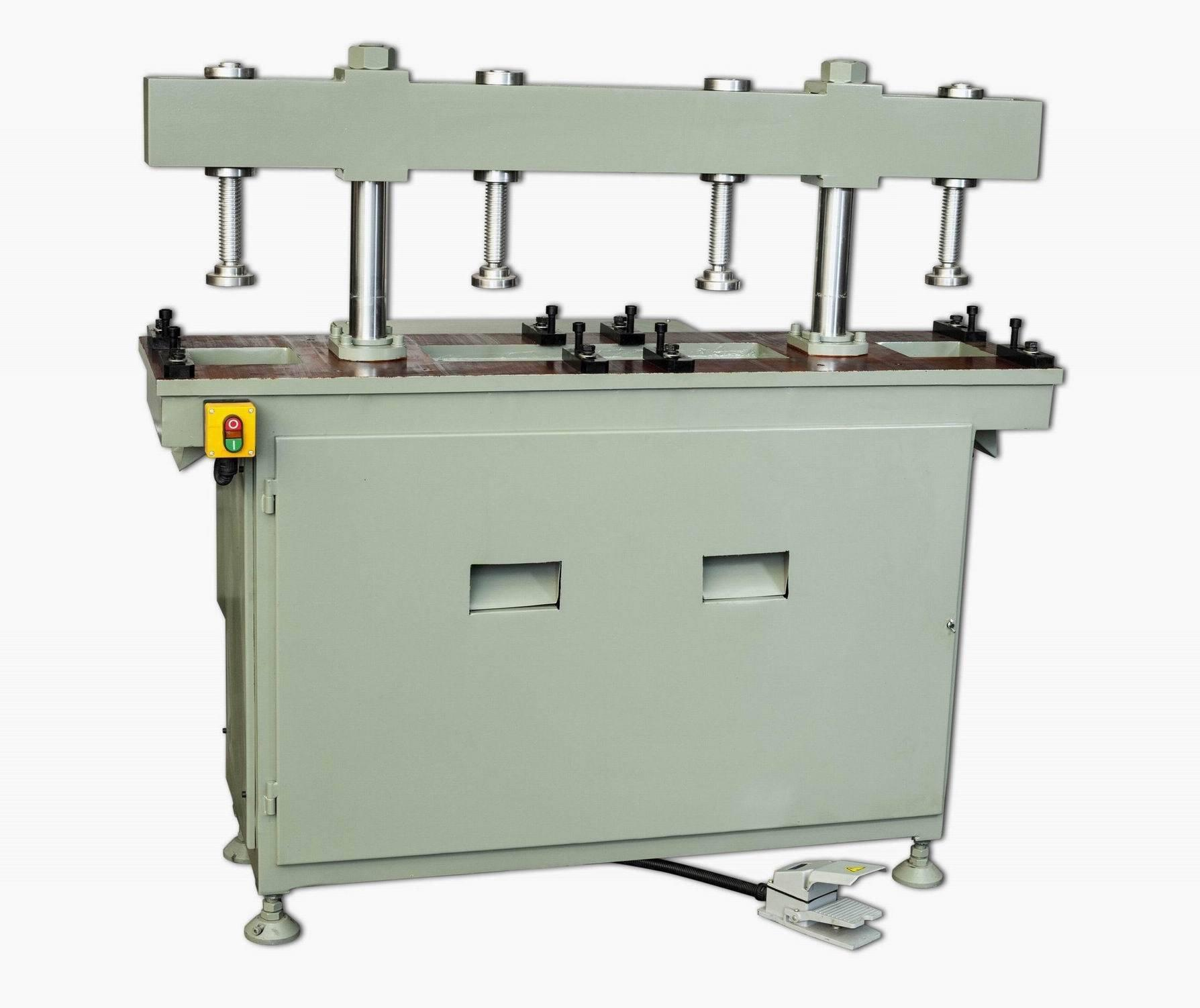 KT-373 Máquina de perfuração de alumínio hidráulico de coluna dupla