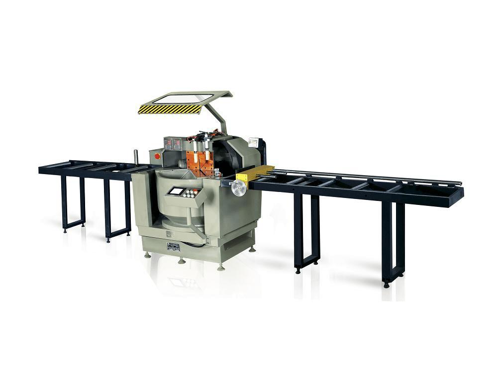 kingtool aluminium machinery KT-328F/DG 2-Axis CNC Single Head Saw Al Cutting Machine in Heavy-Duty Aluminum Cutting Machine image4
