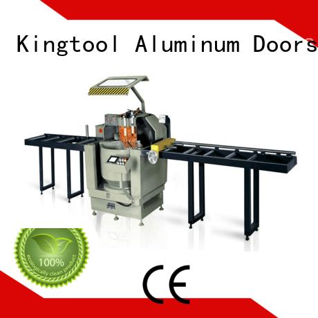 kingtool aluminium machinery al aluminium profile cutting machine for aluminum curtain wall in plant