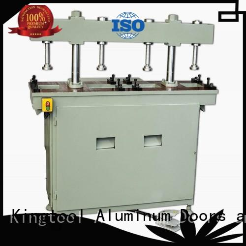 kingtool aluminium machinery best aluminum hole punching machine free design for milling