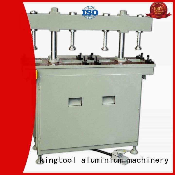 kingtool aluminium machinery steady window door punching machine bulk production for steel plate