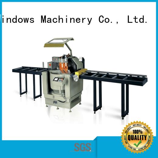 easy-operating cnc machine price single for aluminum door in factory