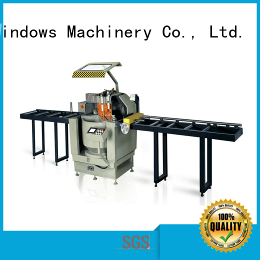 easy-operating cnc machine price single for aluminum door in factory