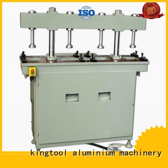 kingtool aluminium machinery Brand four column machine multicy linder profile aluminum punching machine