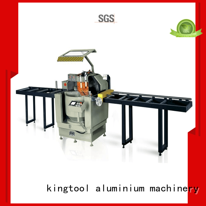 head aluminium sheet cutting machine for aluminum curtain wall in plant kingtool aluminium machinery
