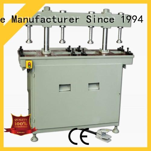 kingtool aluminium machinery double cnc punching machine with cheap price for grooving