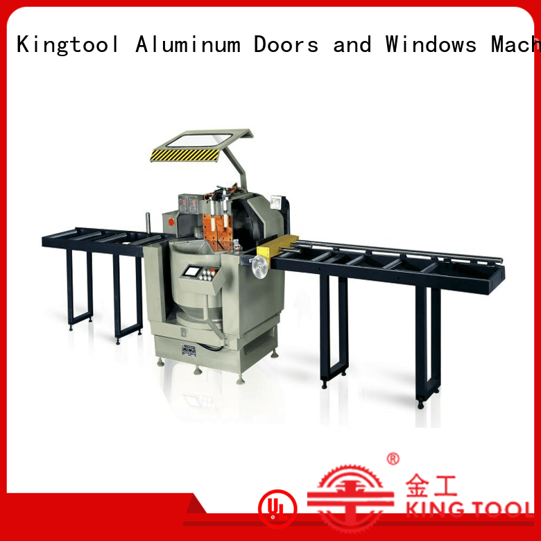 kingtool aluminium machinery best-selling aluminium section cutting machine for heat-insulating materials in factory