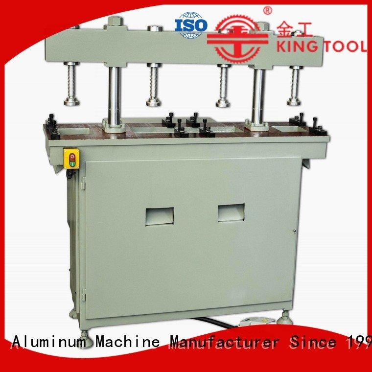 double aluminum column four column kingtool aluminium machinery aluminum punching machine