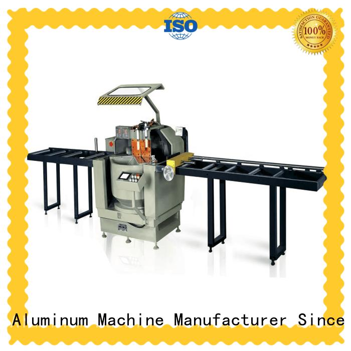 kingtool aluminium machinery stable cnc machine price for aluminum curtain wall in workshop